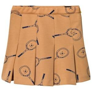 Image of Bobo Choses Girls Skirts Yellow Tennis Skirt Golden Nugget