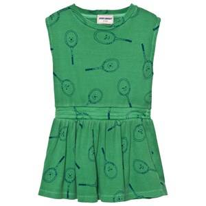 Bobo Choses Girls Dresses Green Tennis Dress Mint