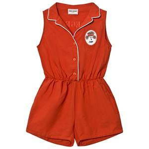 Bobo Choses Girls All in ones Red Tailor Romper Red Clay