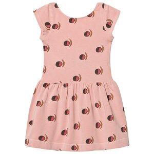 The Animals Observatory Girls Dresses Pink Sparrow Dress Pink Fruit
