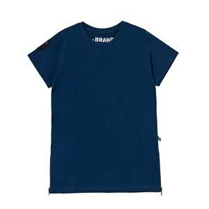 The BRAND Girls Private Label Dresses Blue Long Tee Dress Blue