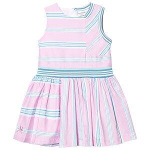 No Added Sugar Girls Dresses Pink In A Heartbeat Dress Quad Stripe