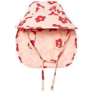 Mini Rodini Unisex Headwear Pink Blossom Sun Cap Pink