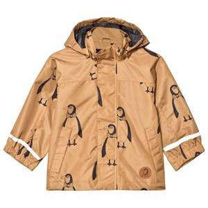 Mini Rodini Unisex Coats and jackets Brown Edelweiss Jacket Brown