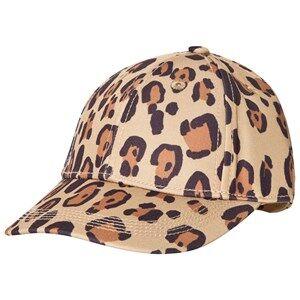 Mini Rodini Unisex Headwear Beige Leopard Cap Beige