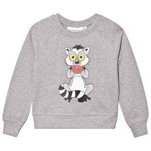 Tao&friends; Unisex Jumpers and knitwear Grey Lemuren Sweatshirt Grey