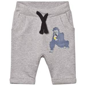 Tao&friends; Unisex Bottoms Grey Gorillan Sweatpants Grey