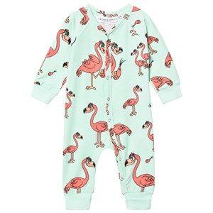 Tao&friends; Unisex Nightwear Green Flamingon One-Piece Mint