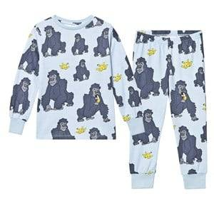 Tao&friends; Unisex Nightwear Blue Gorillan Pyjamas Blue