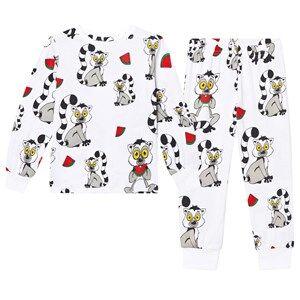 Tao&friends; Unisex Nightwear White Lemuren Pyjamas White