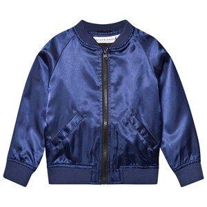Tao&friends; Unisex Coats and jackets Blue Flamingon Bomber Jacket Marine