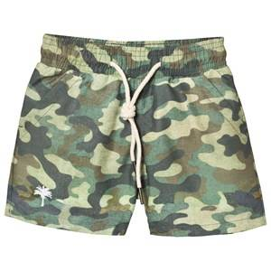 OAS Boys Swimwear and coverups Green Kid