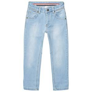 eBBe Kids Unisex Bottoms Blue Bass Denim Pants Light Blue Denim Stretch