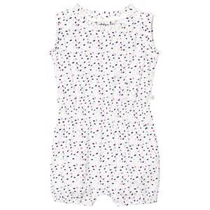 eBBe Kids Girls All in ones White Cling Baby Romper Multi Color Sprinkles