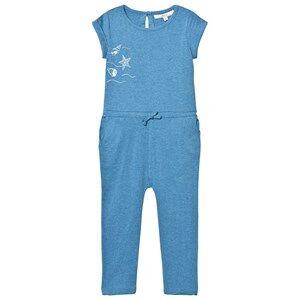 eBBe Kids Girls All in ones Blue Bling Jumpsuit Blue Denim Melange