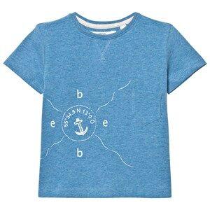 eBBe Kids Boys Tops Blue Barnie T-Shirt Blue Denim Melange