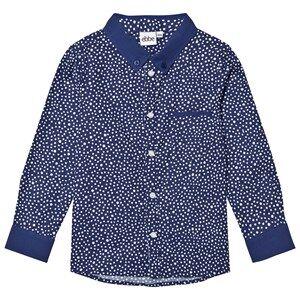 eBBe Kids Boys Tops Blue Costas Shirt Dotted Midnight Blue
