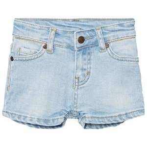 eBBe Kids Girls Shorts Blue Benita Denim Shorts Light Blue Denim Stretch