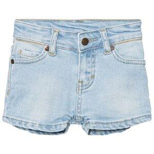 eBBe Kids Girls Shorts Blue Benita Denim Shorts Light Blue Denim Stretch