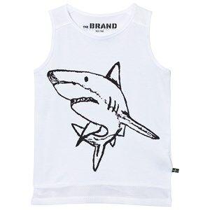 The BRAND Unisex Private Label Tops White Long Mesh Tank White
