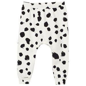 Popupshop Unisex Bottoms White Baggy Leggings White Leo