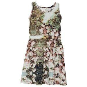 Popupshop Girls Dresses Multi Tank Dress Flower 2