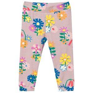 Image of Stella McCartney Kids Girls Bottoms Multi Flower Print Tula Leggings