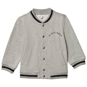 Civiliants Unisex Coats and jackets Grey Baseball Jacket Grey Melange