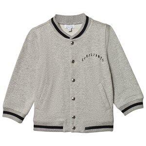 Civiliants Unisex Coats and jackets Grey Baseball Jacket Grey Melange