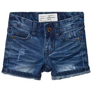 I Dig Denim Unisex Shorts Blue Denton Shorts Dark Blue
