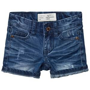I Dig Denim Unisex Shorts Blue Denton Shorts Dark Blue