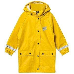Lindberg Unisex Coats and jackets Yellow Svanvik Rain Coat Yellow