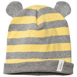 Lindberg Unisex Headwear Yellow Hallabro Baby Hat Yellow
