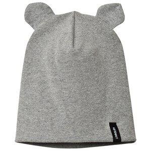 Lindberg Unisex Headwear Grey Tun Baby Hat Grey Melange