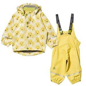 Kattnakken Unisex Clothing sets Yellow Rain Set Yellow Lion