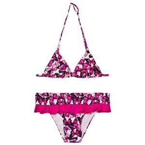 Image of MC2 St Barth Girls Swimwear and coverups Pink Pink Butterfly Bikini