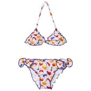 Image of MC2 St Barth Girls Swimwear and coverups Pink Pink Macaron Bikini
