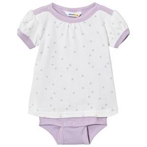 Image of Joha Girls All in ones Pink Baby Body With T-Shirt Mini Star Lilac