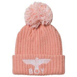 Boy London Girls Headwear Pink Boy Eagle Beanie Pink