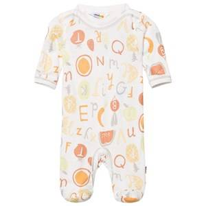 Joha Unisex All in ones Multi Long Sleeve Footed Baby Body Tutti Frutti