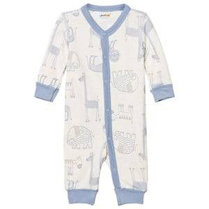 Image of Joha Girls All in ones Blue Zoo One-Piece Forever Blue