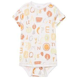 Joha Unisex All in ones Multi Short Sleeve Baby Body Tutti Frutti