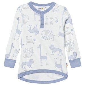 Joha Boys Tops Zoo Long Sleeve Tee Forever Blue