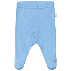 Joha Boys Bottoms Blue Footed Leggings Light Turquoise