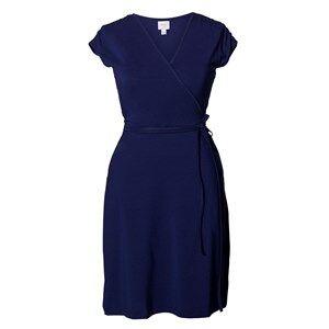 Boob Girls Maternity dresses Blue Wrap Dress Cobalt