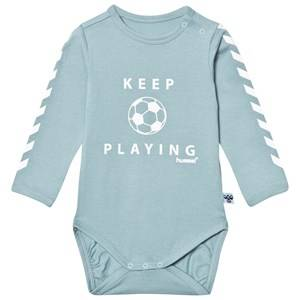 Hummel Boys All in ones Blue Salo Baby Body Stone Blue