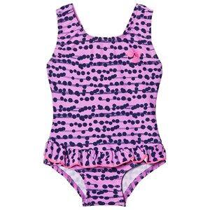 Image of Hummel Girls Swimwear and coverups Purple Filippa Swimsuit Multi Colour