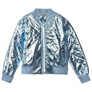 Koolabah Unisex Coats and jackets Blue Metallic Blue Jacket Light Blue