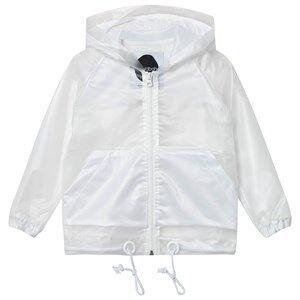Koolabah Unisex Coats and jackets White Rain Jacket Transparent White