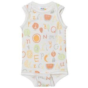 Joha Unisex All in ones Multi Sleeveless Baby Body Tutti Frutti